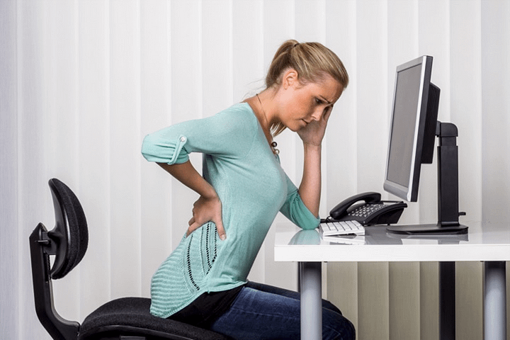 Back pain is one of the most common work-related injuries and is often caused by ordinary work activities such as sitting in an office chair or heavy lifting. Applying ergonomic principles - the study of the workplace as it relates to the worker - can help prevent work-related back pain and back injury | Auckland, New Zealand